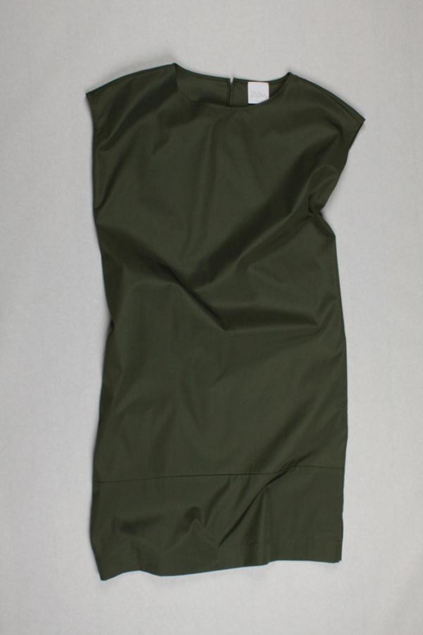 Kleid AMAZE monocolor von 25° plus | Dried Dill | Cotton