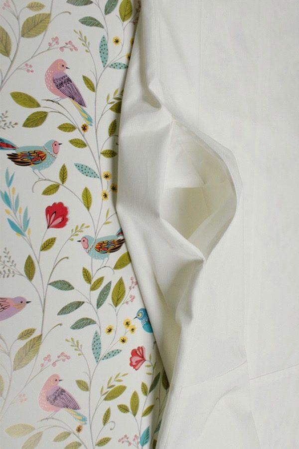 Sommerdress AMAZE von 25° plus | White Asparagus | Popeline