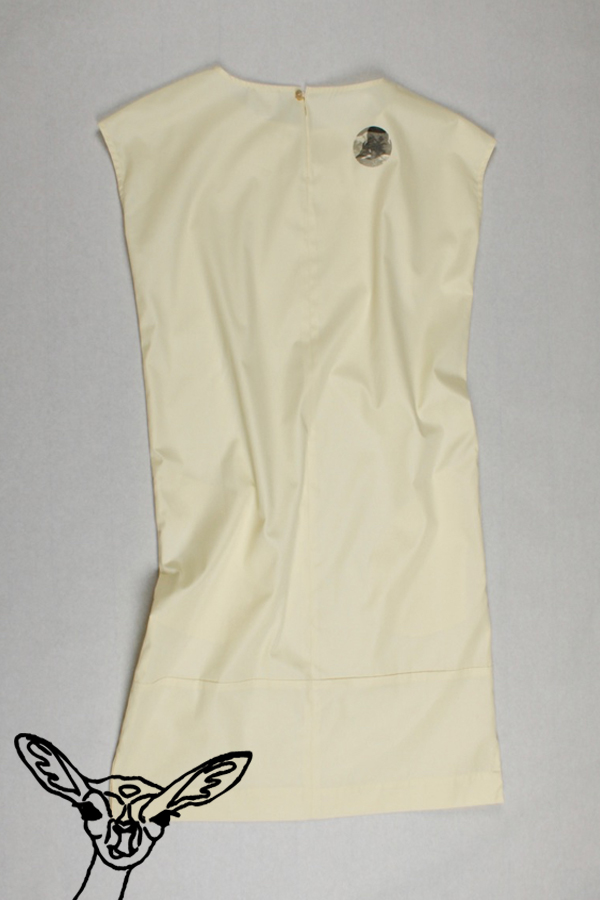 Tattoo-Kleid AMAZE von 25° plus | Creamy Pistachio | reine Baumwolle
