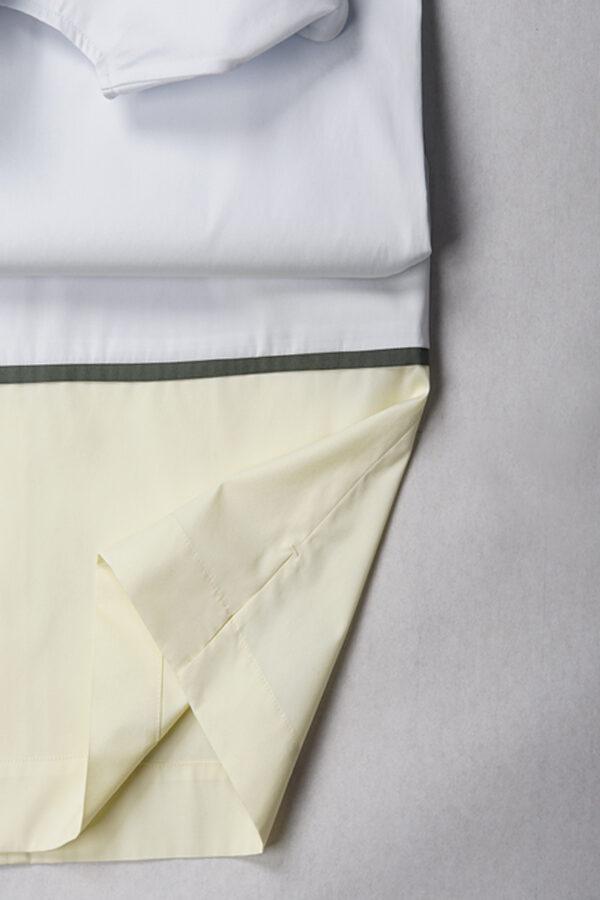 Sommerkleid tricolor | Detail | 25° plus Zürich | Amaze bluish ice cube