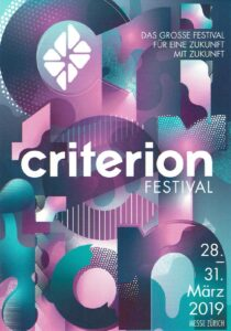 Criterion Festival | 25° plus ist mit dabei | Stand: J.36