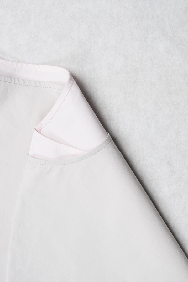 Kurzarm Sommer Dress Rosa von Parsiras, die Vornehme mit rosafarbenem Unterzieher   25gradplus.ch